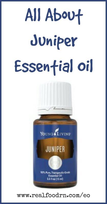 Juniper Essential Oil | Real Food RN