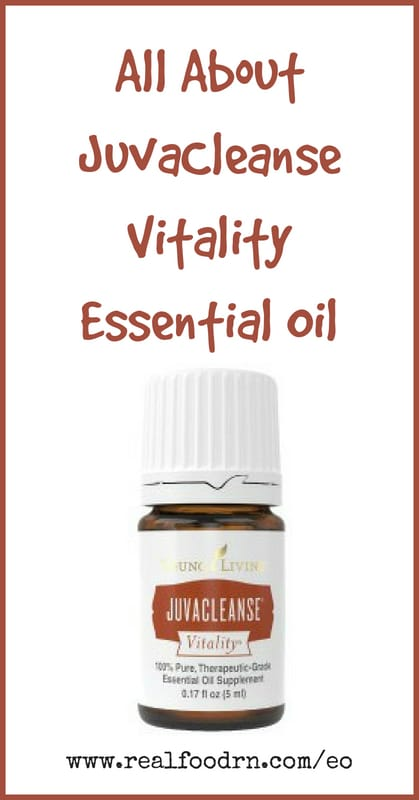 JuvaCleanse Vitality Essential Oil | Real Food RN