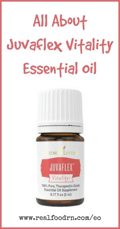 Juvaflex Vitality Essential Oil | Real Food RN