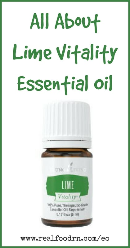 Lime Vitality Essential Oil | Real Food RN