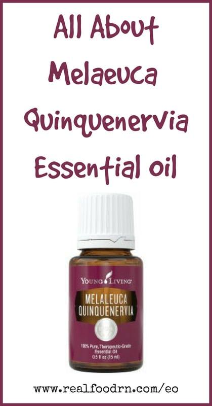 Melaeuca Quinquenervia Essential Oil | Real Food RN
