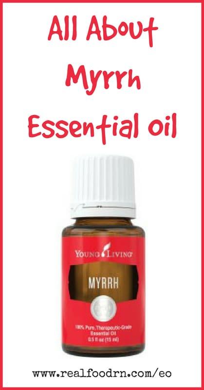 Myrrh Essential Oil | Real Food RN