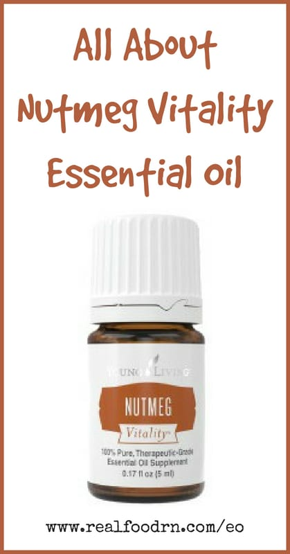 Nutmeg Vitality Essential Oil | Real Food RN