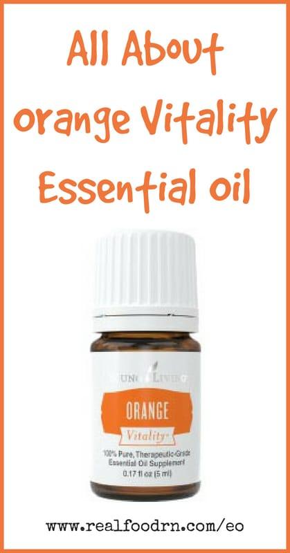 Orange Vitality Essential Oil | Real Food RN