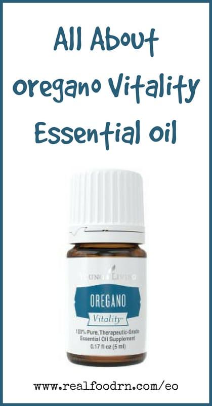Oregano Vitality Essential Oil | Real Food RN