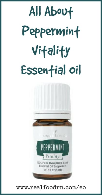 Peppermint Vitality Essential Oil | Real Food RN