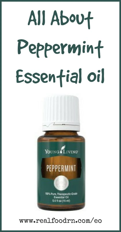 Peppermint Essential Oil | Real Food RN