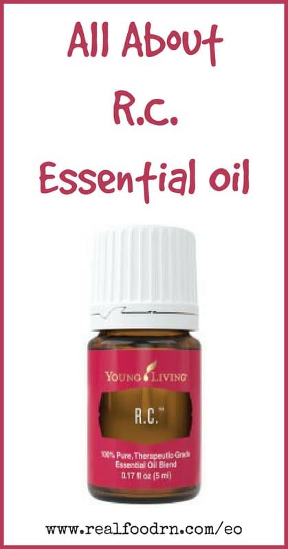 R.C. Essential Oil | Real Food RN