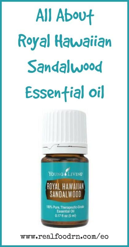Royal Hawaiian Sandalwood Essential Oil | Real Food RN
