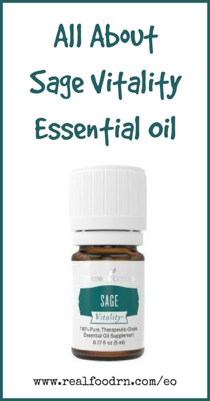 Sage Vitality Essential Oil | Real Food RN