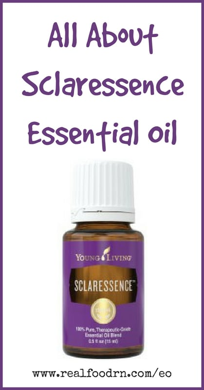 Sclaressence Essential Oil | Real Food RN