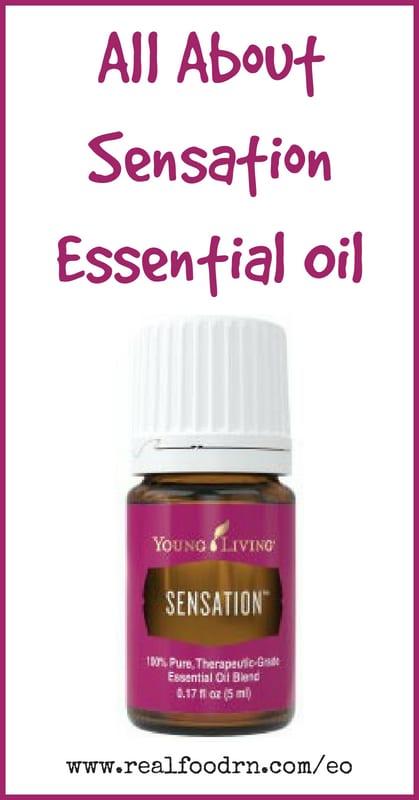 Sensation Essential Oil   Real Food RN