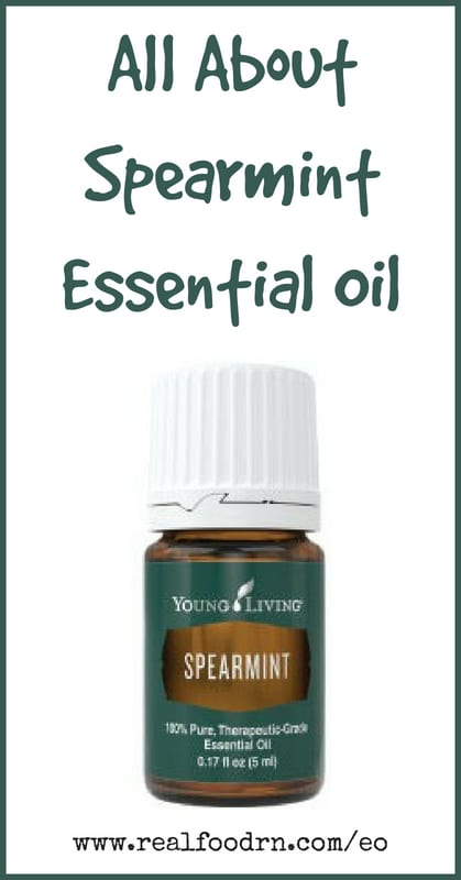 Spearmint Essential Oil | Real Food RN