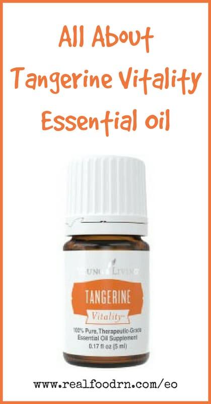 Tangerine Vitality Essential Oil | Real Food RN