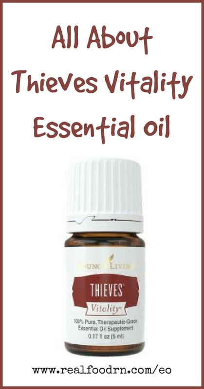 Thieves Vitality Essential Oil | Real Food RN