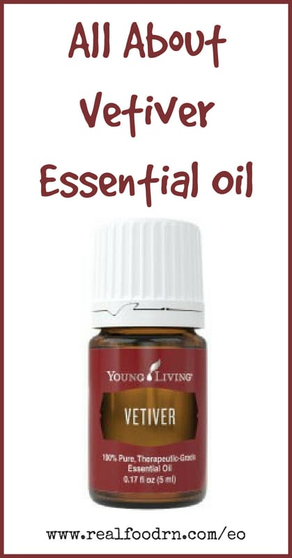 Vetiver Essential Oil | Real Food RN