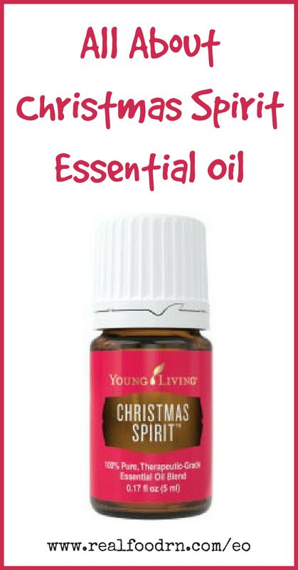Christmas Spirit Essential Oil | Real Food RN
