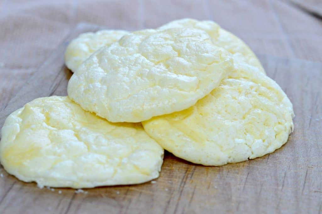 Mouth Watering Garlic Cheddar Keto Cloud Bread   Real Food RN