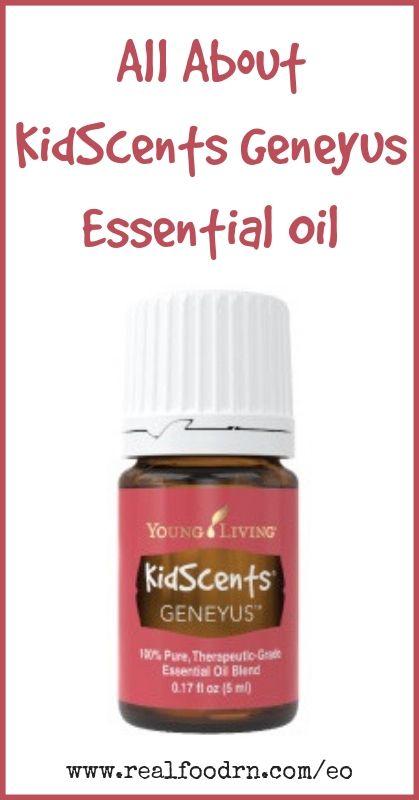 KidScents GeneYus Essential Oil | Real Food RN