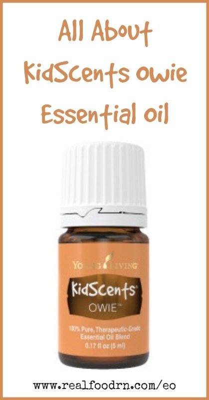 KidScents Owie Essential Oil | Real Food RN
