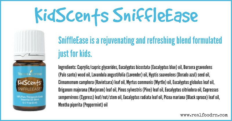 KidScents SniffleEase Essential Oil | Real Food RN