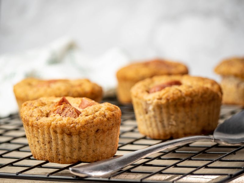 Easy Grain-Free Corn Dog Muffins | Real Food RN