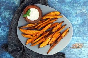 Crispy Sweet Potato Fries   Real Food RN