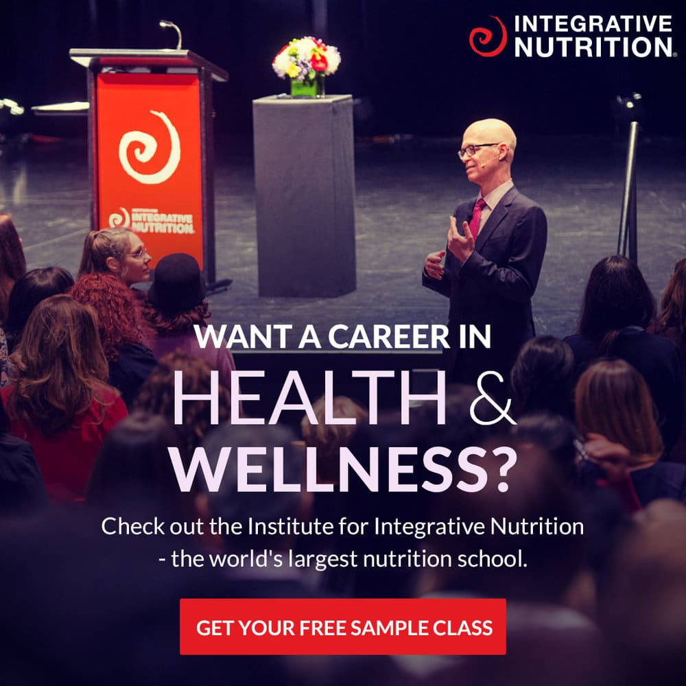 Integrative Nutrition Sample Class CTA