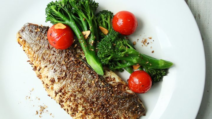 Spiced Grilled Sea Bream with Vegetables | Real Food RN