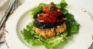 Lentil Recipes Grilled Vegetable Stack | Real Food RN