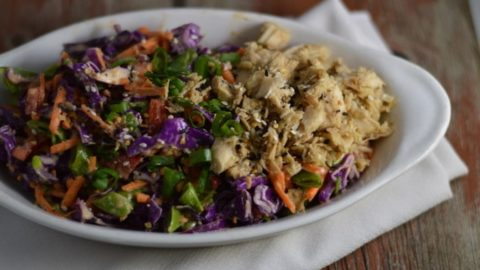 Easy and Delicious Chinese Chicken Salad | Real Food RN