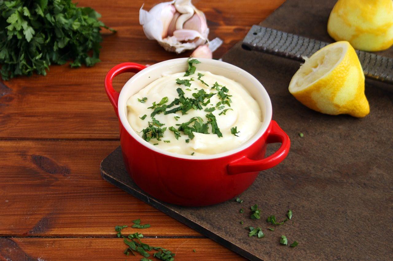 Quick & Easy Homemade Lemon Aioli | Real Food RN