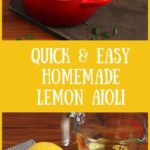 Quick & Easy Homemade Lemon Aioli | Real Food RN