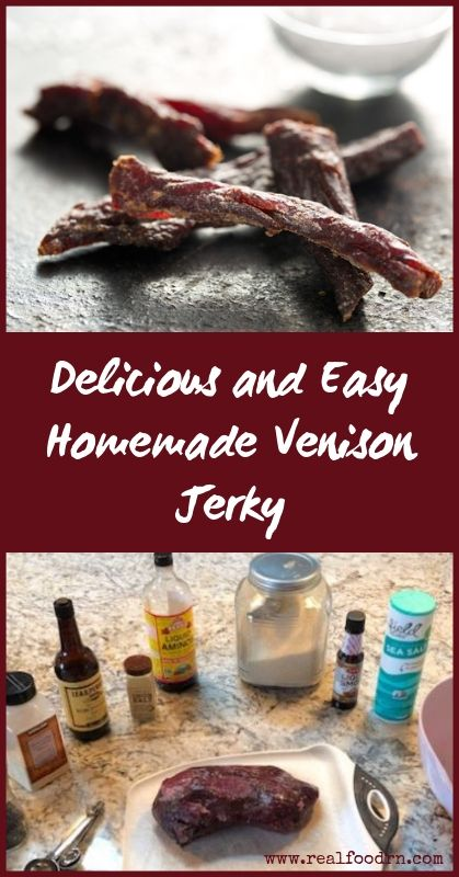 Delicious and Easy Homemade Venison Jerky Recipe | Real Food RN