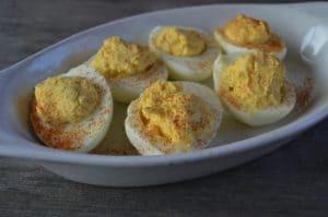 Hollandaise Deviled Eggs   Real Food RN