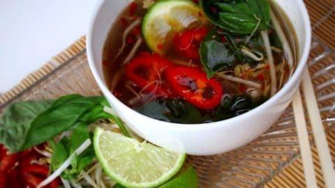 Bone Broth Pho Chicken Soup