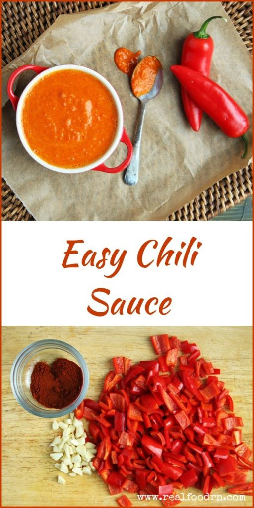 Easy Chili Sauce | Real Food RN