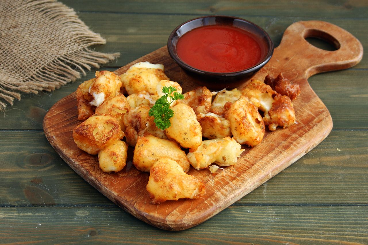 Gluten-Free Fried Cheese Curds