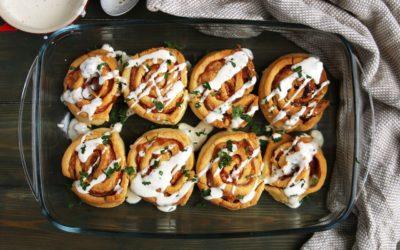Gluten-Free Ham and Gruyere Rolls