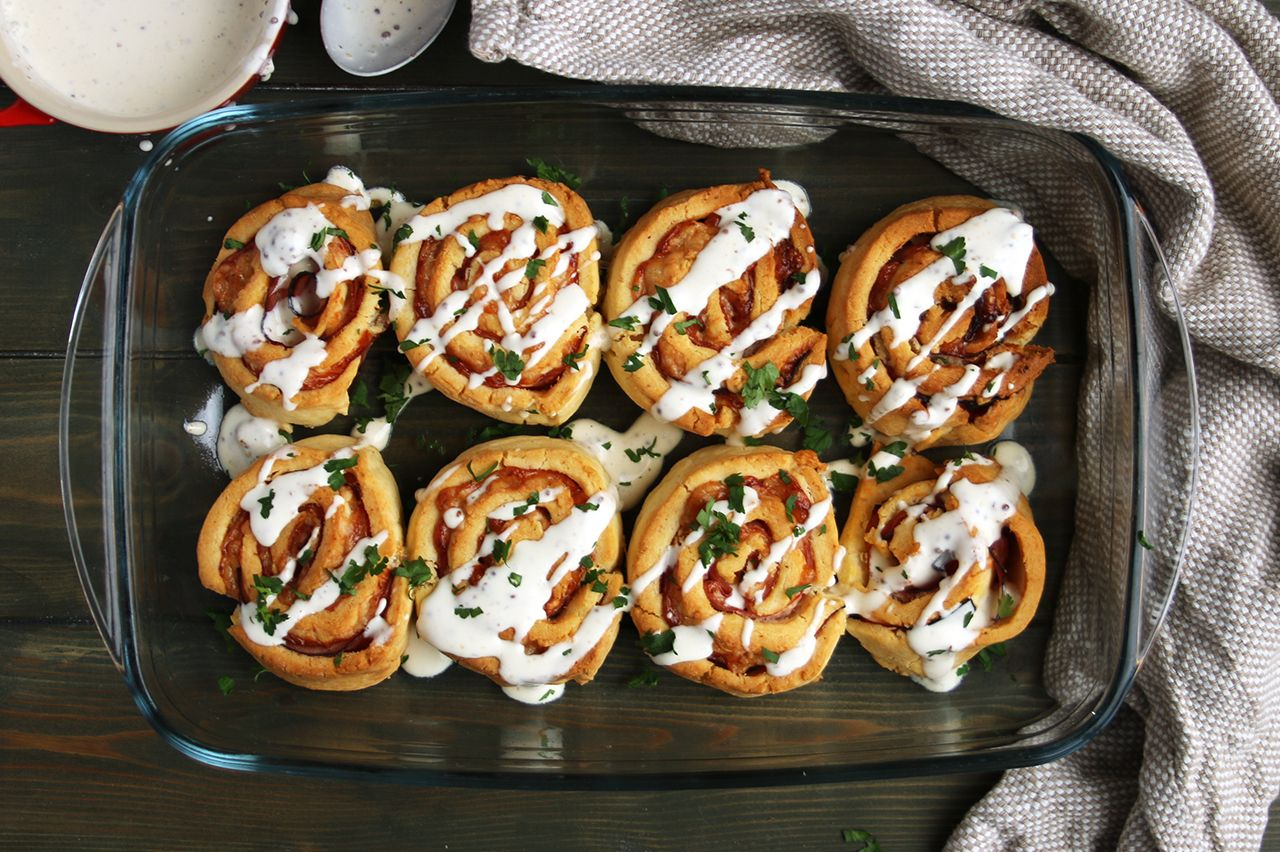 Gluten-Free Ham and Gruyere Rolls   Real Food RN