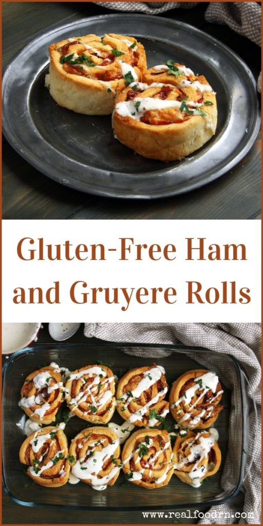 Gluten-Free Ham and Gruyere Rolls | Real Food RN