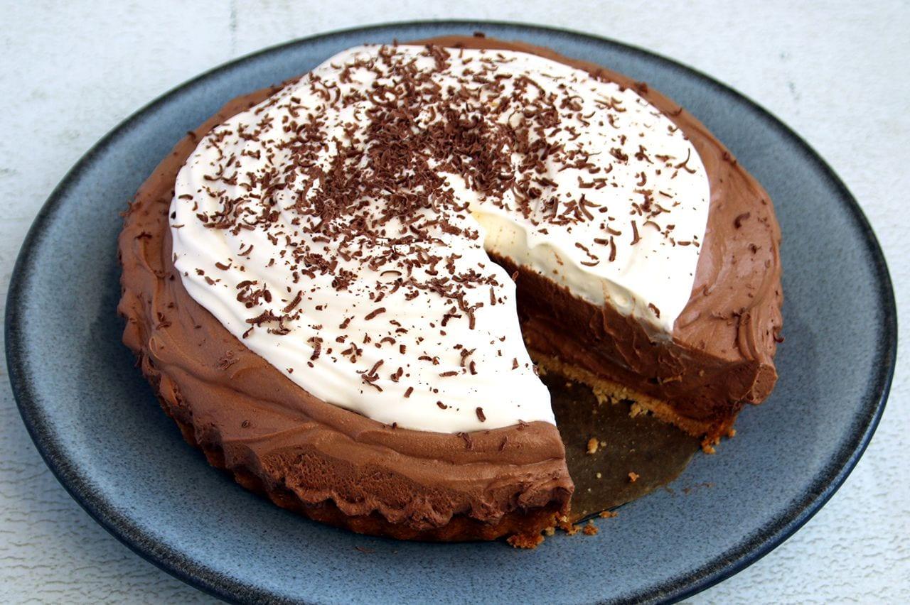 Keto French Silk Pie | Real Food RN
