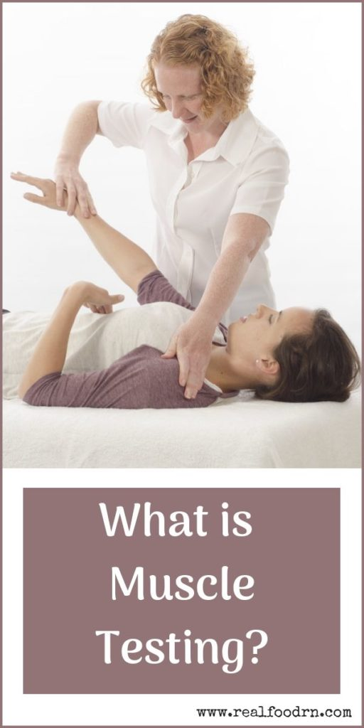 What is Muscle Testing? | Real Food RN