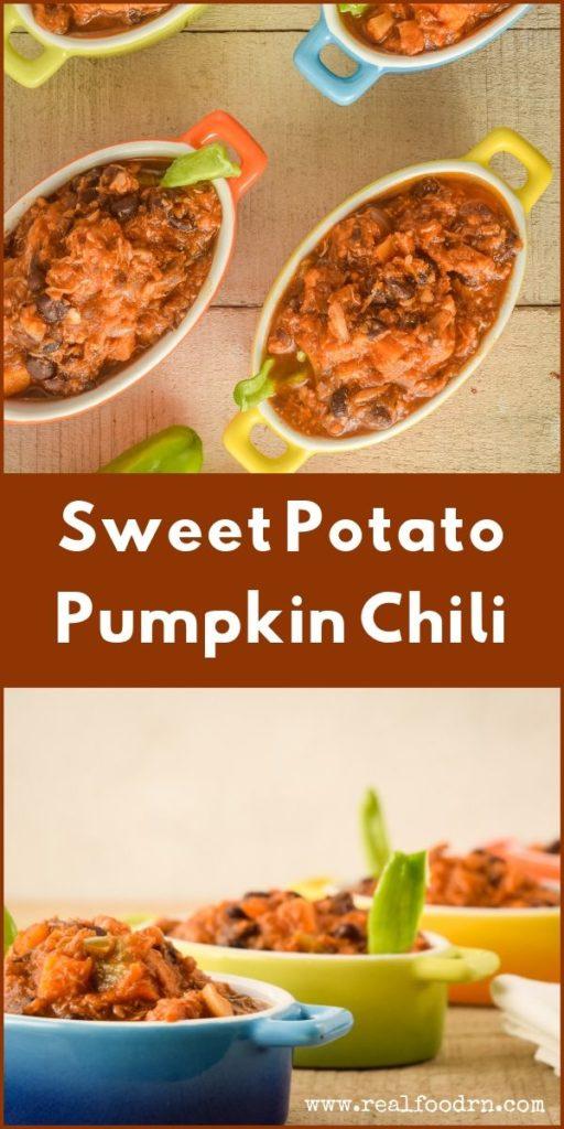 Sweet Potato Pumpkin Chili | Real Food RN