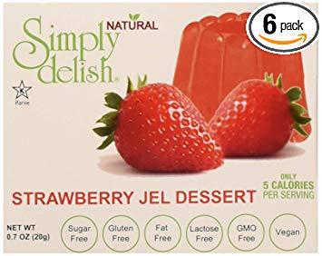 Sugar-Free Strawberry Jello