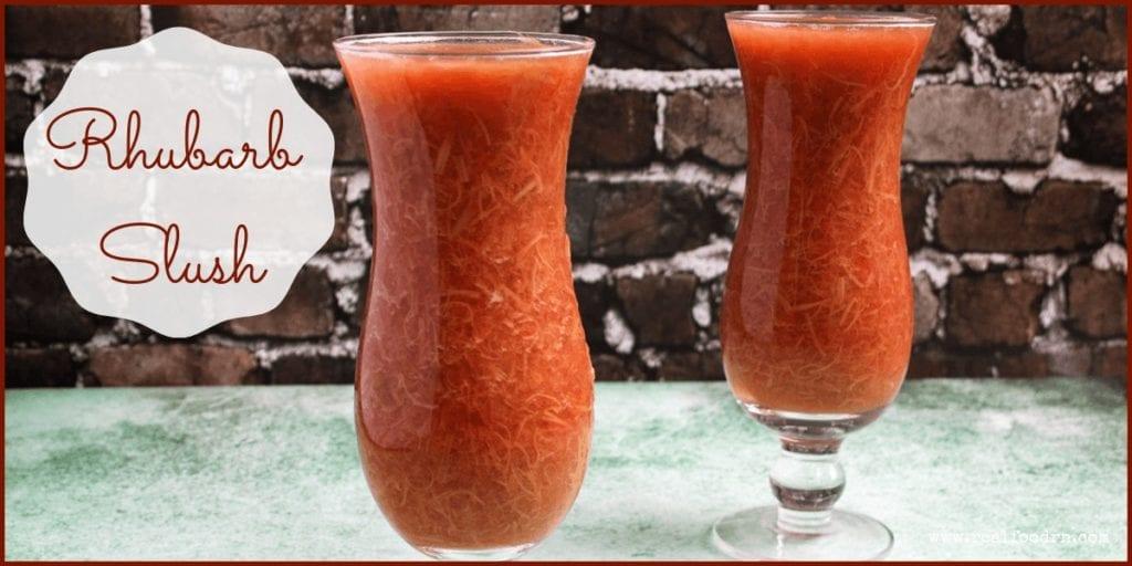Rhubarb Slush | Real Food RN