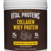 Dark Chocolate Collagen Whey Protein