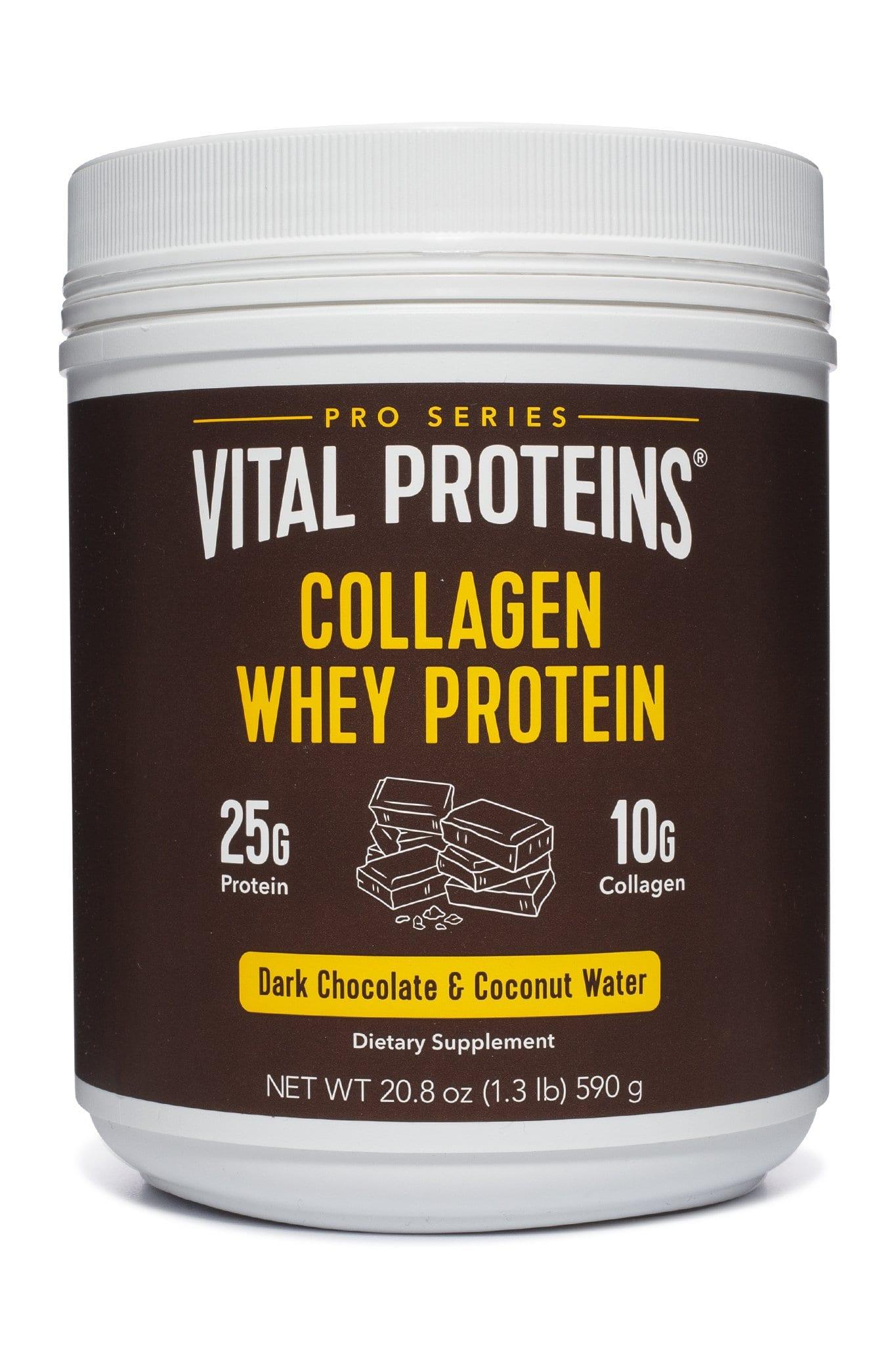 Dark Chocolate Collagen Whey Protein