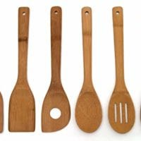 Bamboo Wooden Spoon Set