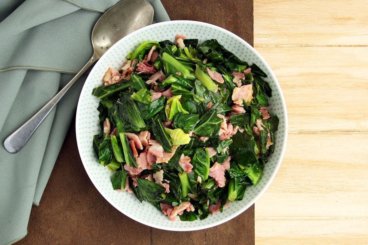 Greens with Bacon & Citrus | Real Food RN